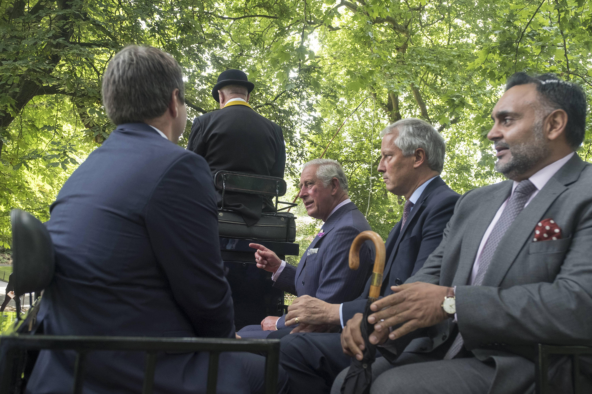 BRITAIN London 13/07/2017HRH The Prince of Wales with the Shire Horses of Operation Centaur at the launch of the Royal Parks Charity©Paul Stewart 2016@@PS_HRH1032.JPG