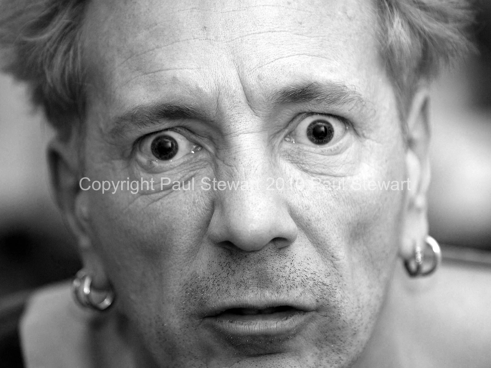 16/12/2005 OPS: John Lydon Press Images for It's Amazing Who You Meet Volume 1 by Paul Stewart These may only be used in conjunction with reviews of the book or exhibition without further permission ©Paul Stewart 2010 07917652636