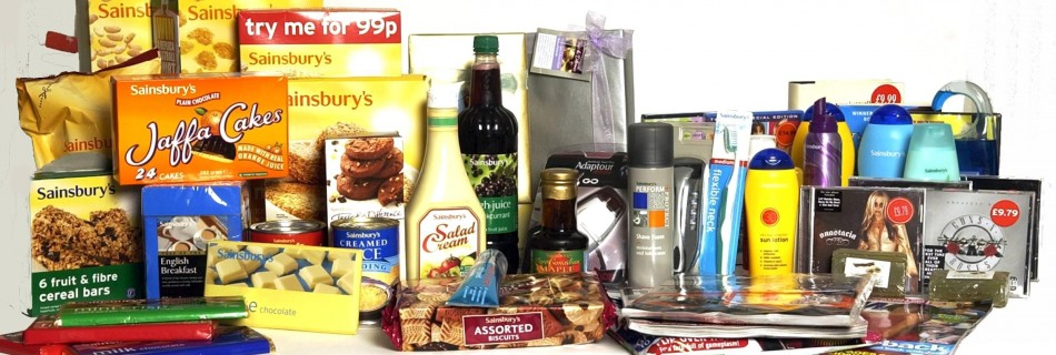 Sainsbury's supplies for he England Euro 2004 Squad  ©Paul Stewart 2004