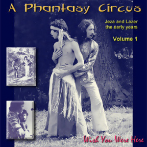 Phantasy Circus album cover, Zenit E ©Paul Stewart