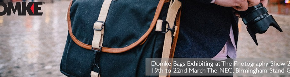 Full program for the Domke/Tiffen stand announced for the Photography Show 2016