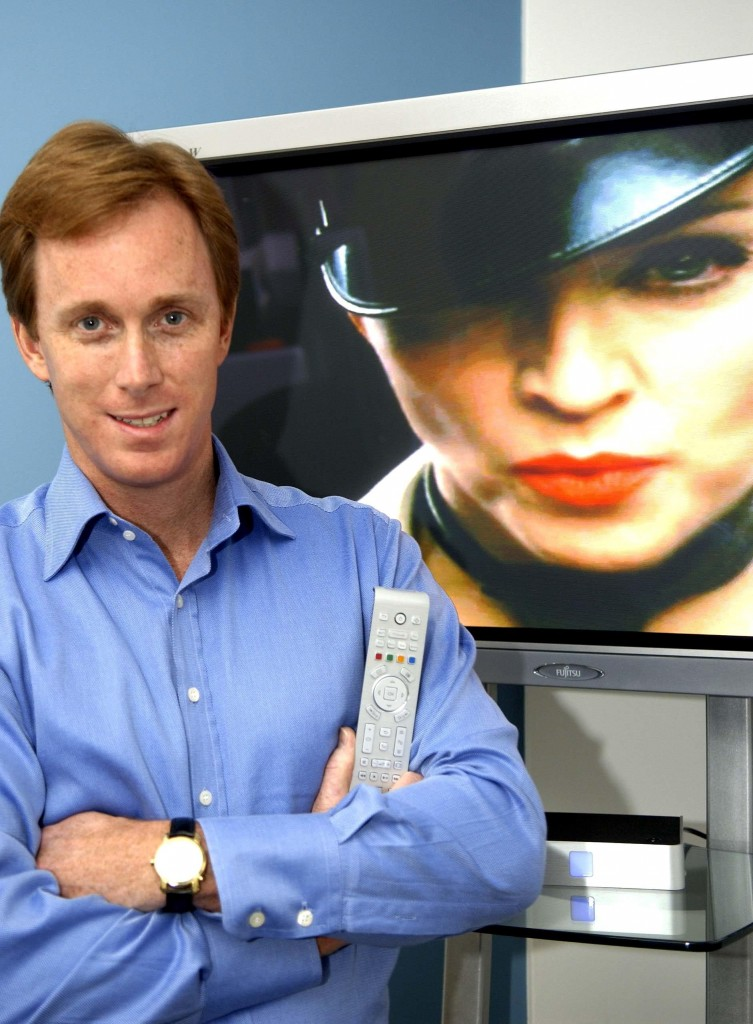 Roger Lynch CEO of Homechoice TV one of the UK's first on demand streaming services. ©Paul Stewart