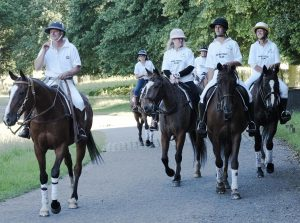 Riders from Ham Polo Club